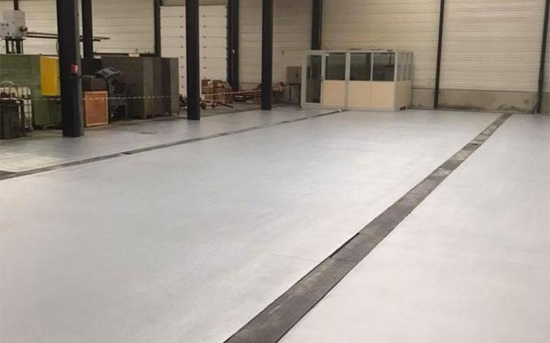 Sol Industrie Lourde - Rénovation Promatec - Après