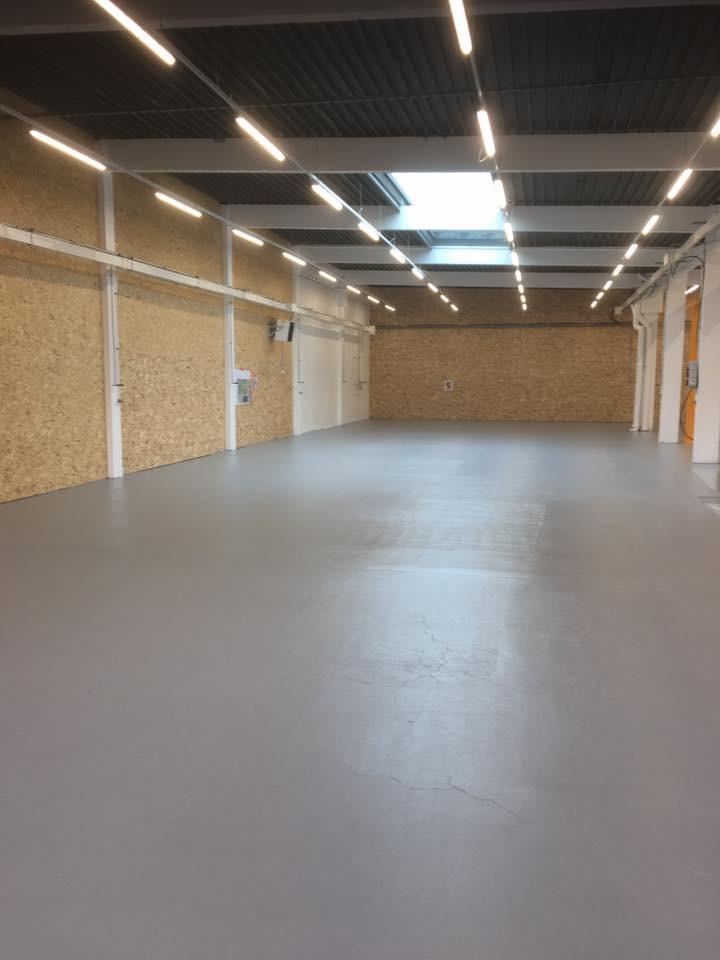 Rénovation Atelier 69 - Sol Epoxy - Après