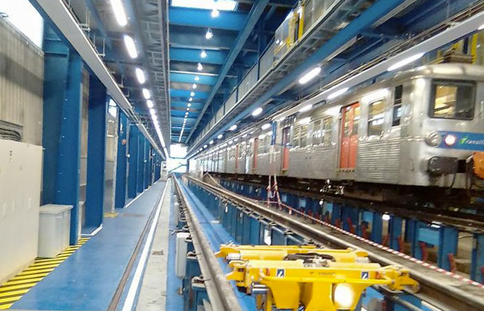 Promatec - Rénovation Atelier Ferroviaire - IDF